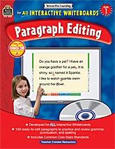 Interactive Learning: Paragraph Editing Grade 1