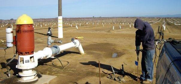 Find Well Water First - Calibration at Production Well