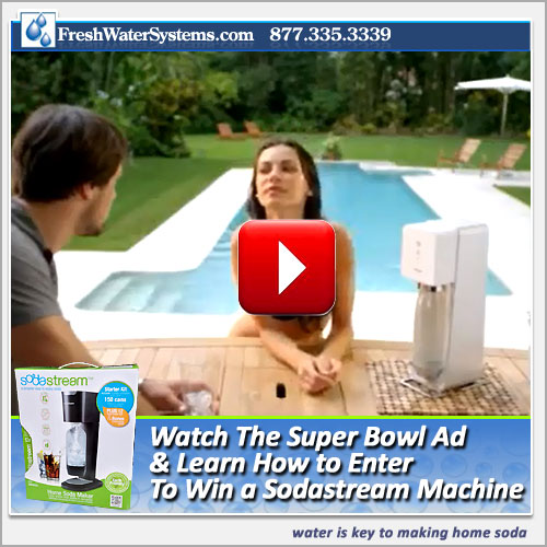SodaStream Super Bowl Commercial: See the Real Ad & the 2 Banned Ads