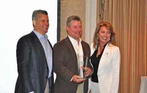 Construction Resources Accepts HomeAid Award