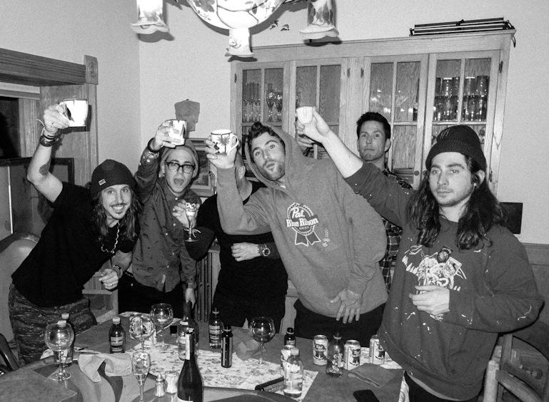 Cisco Adler, DJ Skinnie, Matt Cook, Brody Jenner, and Malcolm McCassy #THINKBIG