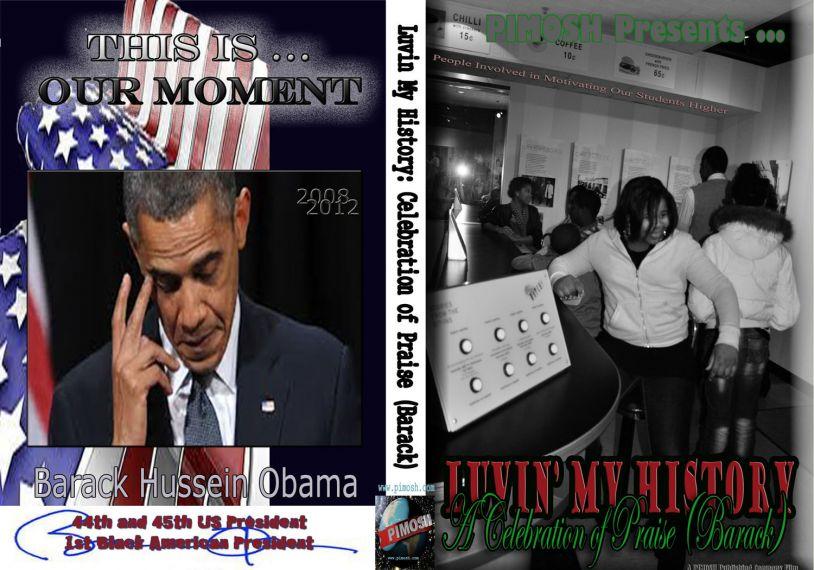 Luvin' My History: Celebration of Praise (Barack) - DVD Box View
