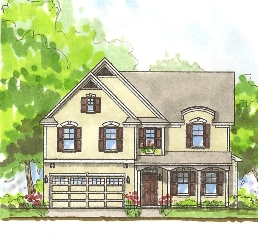 Americana Style Exterior by Savvy Homes
