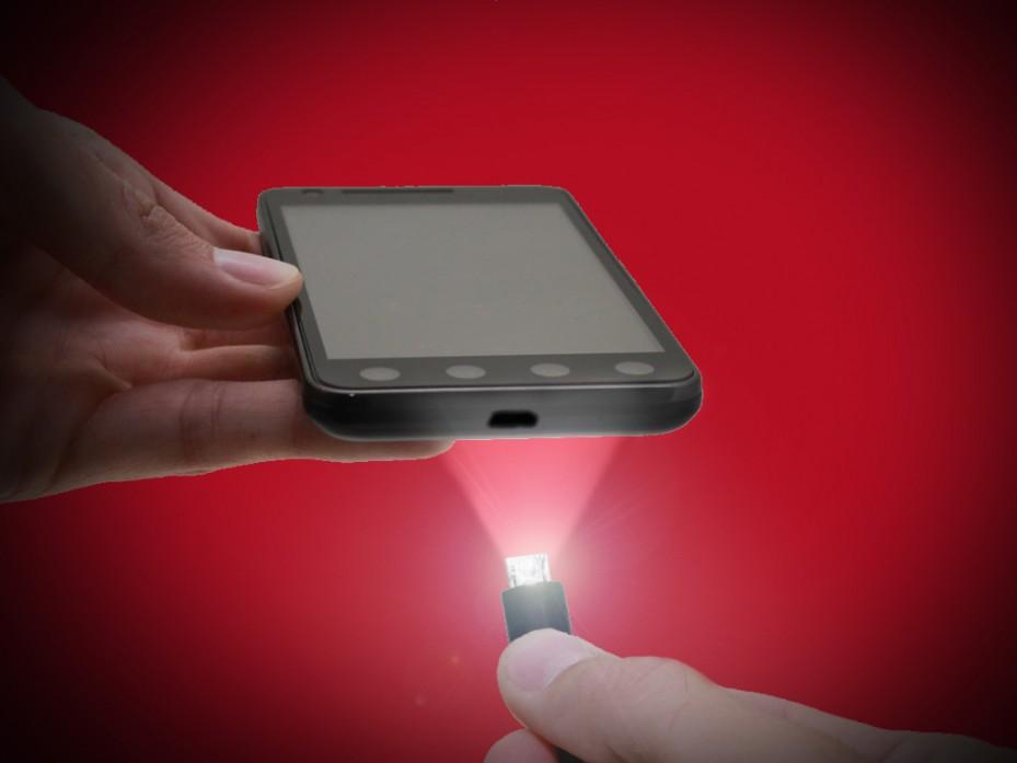 Micro USB LIGHT LED V2G