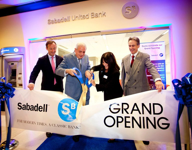 Sabadell opens newest branch on Brickell Ave. in Miami