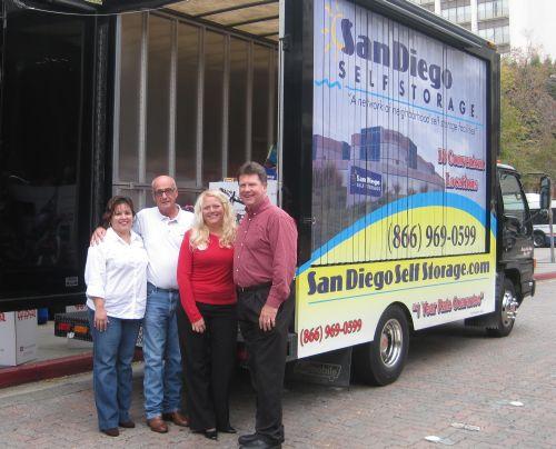 Sandra Flores, Brian Smith, Susan and Kraig Haviland of SDSS