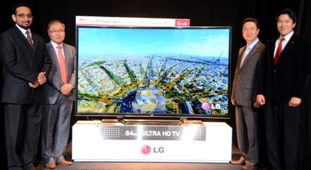 LG 84 UHD TV