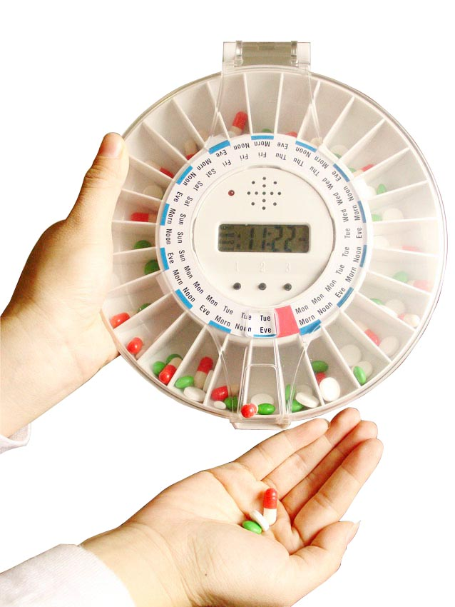 Automatic / Electronic Pill Dispenser / Reminder