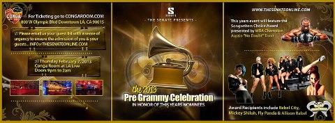 3rd Annual Pre-Grammy Gala
