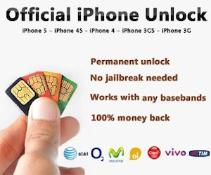 Official iPhone Unlock without jailbreak