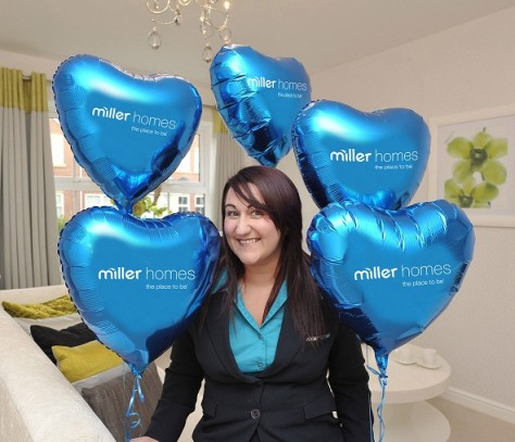 Valentines Day with Miller Homes