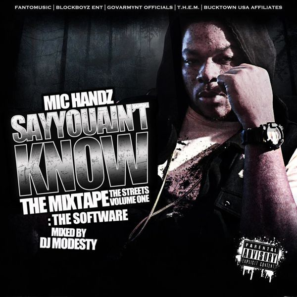 Mic Handz - 'SAYYOUAINTKNOW: The Software'