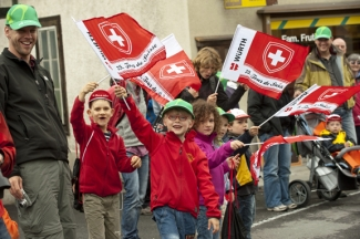 Tour de Suisse spectators