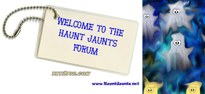 The Haunt Jaunts Forum adds new spirit to the paranormal travel site.