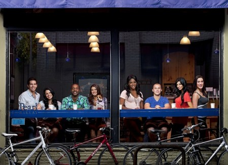 The cast of Real World Season 28 at Pearl Bakery