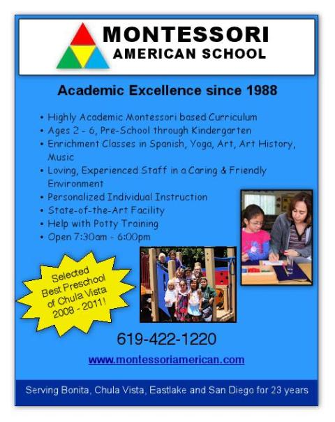 Montessori American fall enrollment