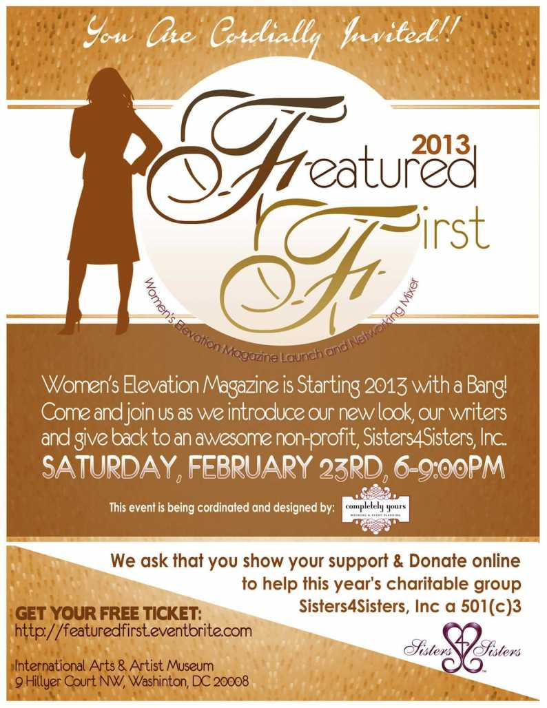 Women's Elevation Magazine Featured First Launch Party