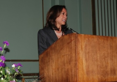 """Atty General Kamala Harris founded """"Back on Track"""" while SF District Attorney."""