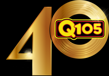 Q105 40th Anniversary Logo