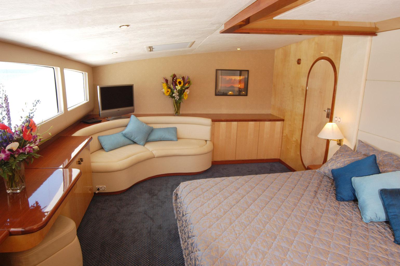 Master Suite Aboard Yacht Zingara