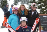 Bedales girls skiing team