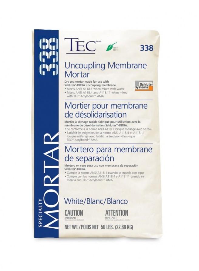 TEC Uncoupling Membrane Mortar