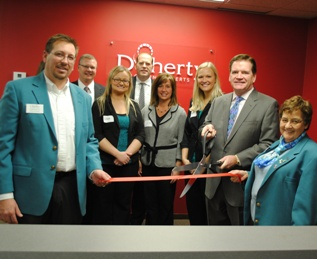 Doherty joins the Eau Claire, Wisconsin business community.