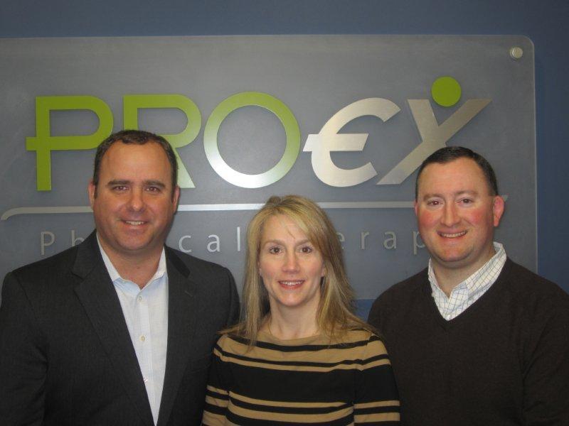 CEO Mike Mulrenan, Allison McCann Stringer, COO Mike Sevro