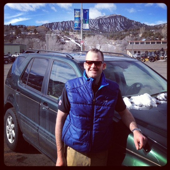John Ross Palmer in Snowy Colorado