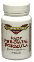 Pre Natal Dietary Supplement by Vitamin Power