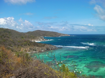 Norman Island, BVI. Treasure was buried here November 13, 1750