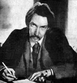 Robert Louis Stevenson, author of Treasure Island