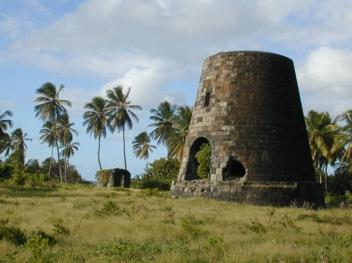 The Sugar Mill at the Caines Plantation, St. Kitts