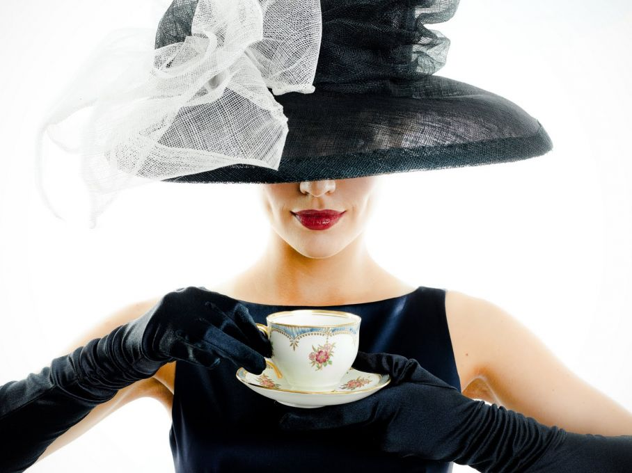 Afternoon Tea Fashion At Dallas Bridge Bistro For The