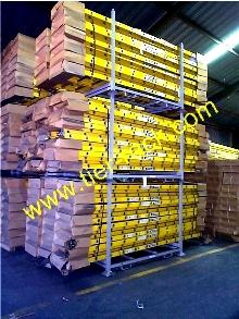 Portable stacking racks