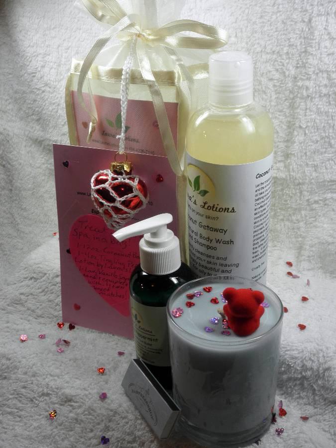 Romantic Spa Essential Gift Bag