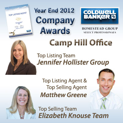 Coldwell-Banker-Camp-Hill-Office-Top-Agents-2012