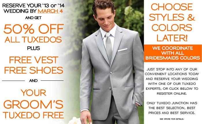 Tuxedo Junction ~Perfect Match Formalwear