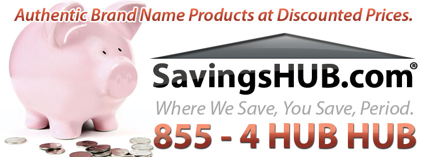 SavingsHUB.com - Authentic Brand Name Products at Discounted Prices.