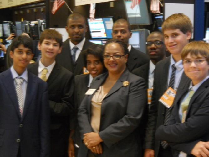 FICA Students Tour New York Stock Exchange