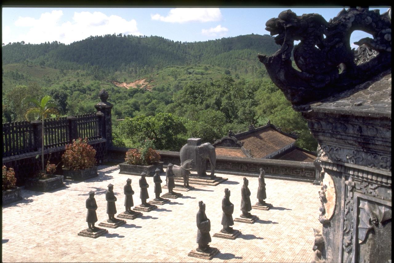 Emperor's Tomb, Hue, Vietnam