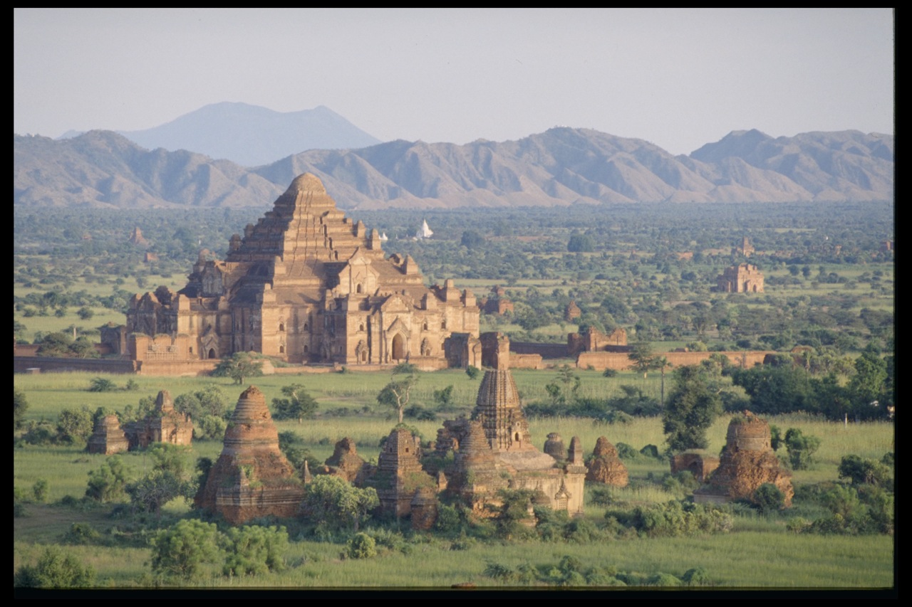 Panorama Of Bagan (Pagan) Myanmar (Upper-Burma)