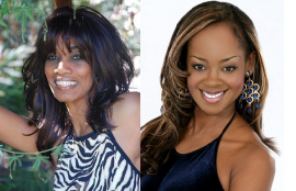 Host Candace Chambers-Belida and Mrs. New Jersey Ceylone Boothe Grooms