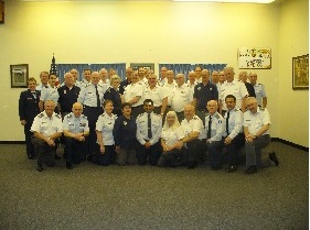 Nevada Wing Squadron Commanders and Wing Staff