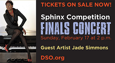 Jade Simmons with the Sphinx Symphony