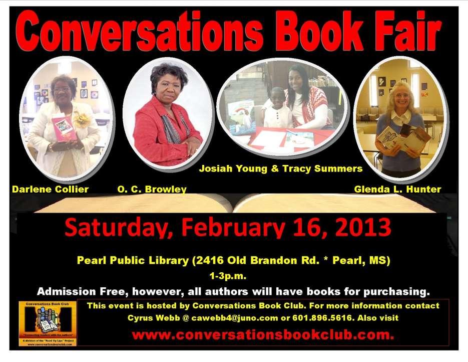 conversations book fair feb 2013
