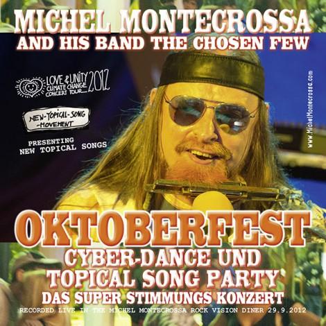 Michel Montecrossa's Double Audio-CD 'Oktoberfest Cyber-Dance Party'