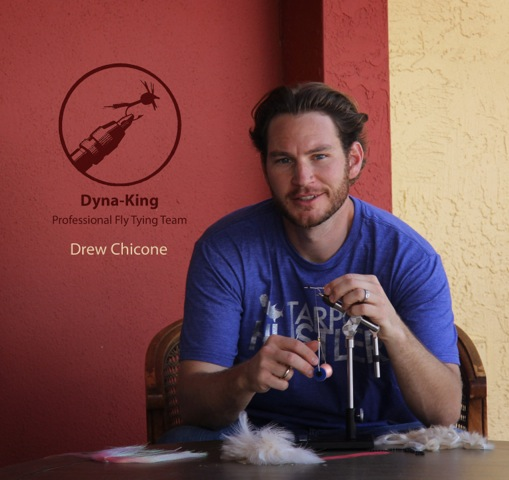 Professional Fly Tyer •Drew Chicone, Creator of www.saltyflytying.com
