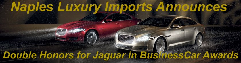 Double Honors for Jaguar in BusinessCar Awards