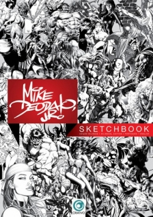 Mike Deodato Jr. Sketchbook Portland Comic Con by